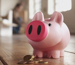 Locked away: Family members have to stump 10% into a Barclays savings account