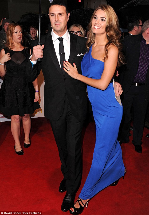 Proud parents to be: Paddy McGuinness and his wife Christine are expecting twins this summer
