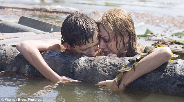 Tragic story: Naomi Watts was nominated for her role in The Impossible