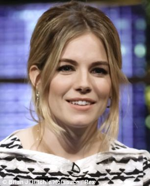Claims: Casburn told jurors that some of her colleagues were excited about meeting Sienna Miller, pictured