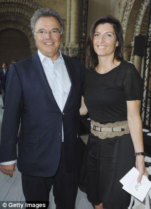 Alain Afflelou and Christine Couland