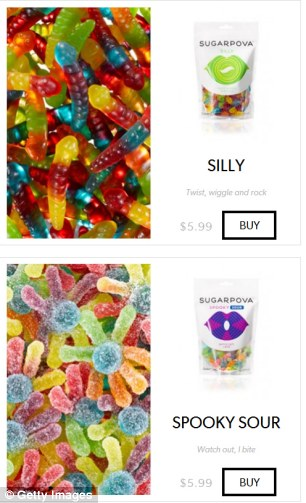 You can choose from flavours that include Spooky Sour, Splashy, Silly, Cheeky and Flirty