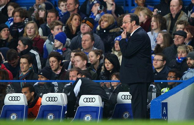 Boost for Benitez: Chelsea have it all to do after losing 2-0 to Swansea