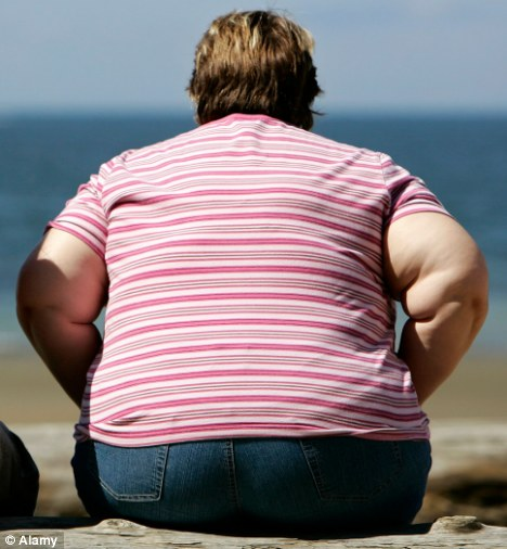 Guilty, he says: Male jurors, especially skinny ones, are more likely to find an overweight or obese female defendant guilty than a lean woman or a man, the study found