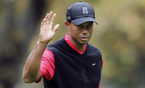 No deal: The Qataris are not prepared to pay Tiger's whooping appearance fee