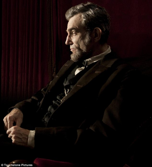 Leading the pack: Lincoln received the most nominations with a whopping 12 nods, followed by Life of Pi with 11 and Silver Linings Playbook and Les Miserables with eight each