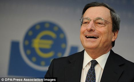 Mario Draghi of the European Central Bank: Outlook in the region is improving but ¿too early to claim success¿