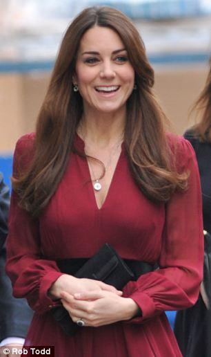 Kate laughs