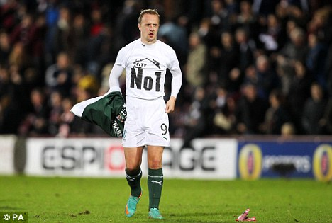 In hot water: Leigh Griffiths will be dealt with internally