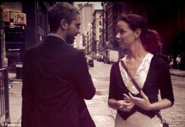 In love: Barbara Bush and her boyfriend Miky Fabrega pose for a picture in NewYork