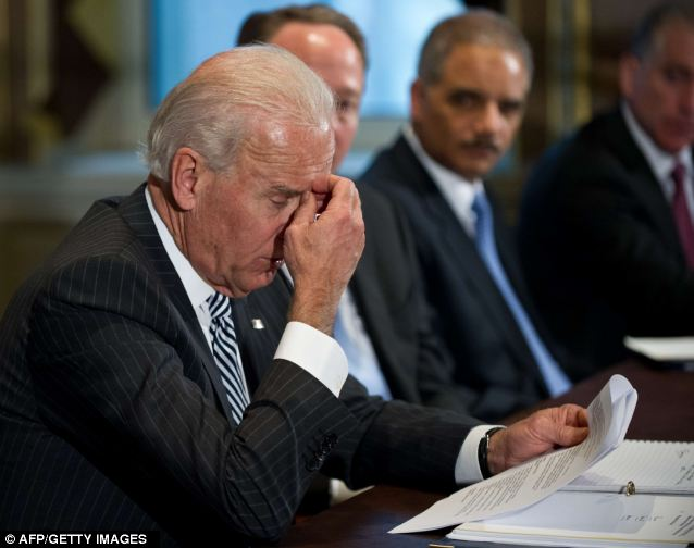 Fact-finding: Biden conducted a run of meetings this week with movie and video game industry reps, as well as the NRA