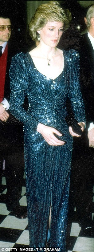 Princess Diana on a visit to Austria in 1986