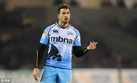 Losing feeling: Danny Cipriani could not inspire Sale to a win