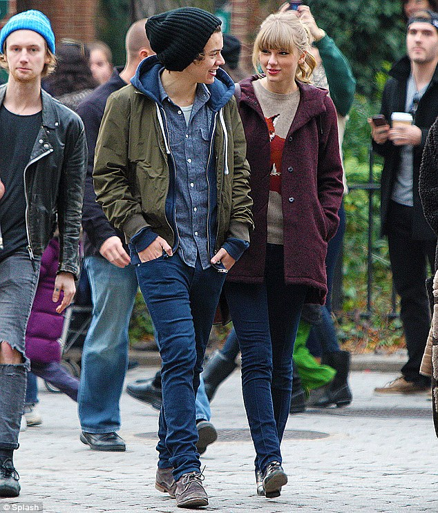 Tame: Taylor Swift and Harry Styles enjoyed sedate outings like walks in the park and a trip to a Beatrix Potter centre in the Lake District, England