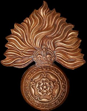 Cap badge of the  Royal Fusiliers