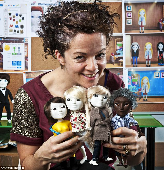Unique: Alice Taylor, CEO of Makilab, which makes 3D model dolls via internet designed by her customers
