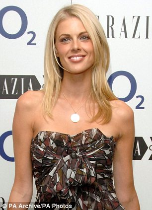 Art lover: Donna Air lives in London with their daughter Freya