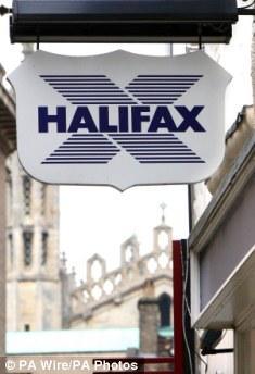 Missing money: Halifax has apologised for the mistake