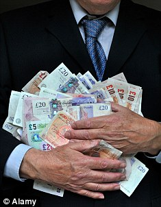 Report: Top pay has trebled in ten years without any accompanying long-term rise in share values