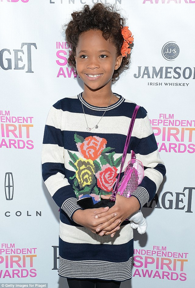 Winter fashion: The actress donned a cute jumper dress to the event in West Hollywood, California