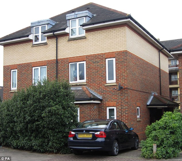 Home: The three-storey, semi-detached property in Balham, south-west London, where Imani Green, eight, was said to have lived