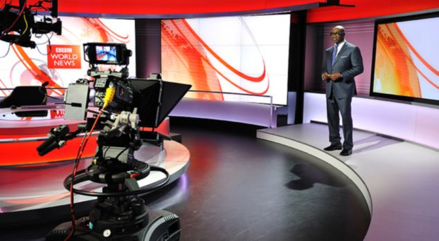 Revamp: The Corporation's three main daily television news bulletins will be broadcast from the £1bn facility