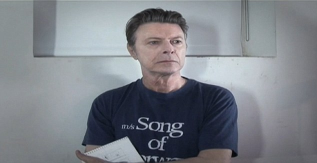Surprise: David Bowie released Where Are We Now? on Tuesday without warning and it has gone in at number six in the charts