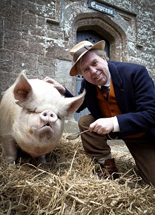 Impressive: Although Timothy Spall doesn't physically match the story's description of his character, his quirky performance is spot on