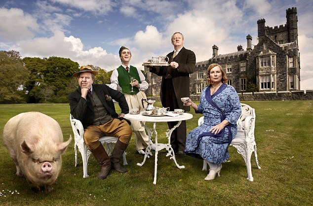 BBC TV's new drama series, Blandings, is based on the stories of comic writer P G Wodehouse