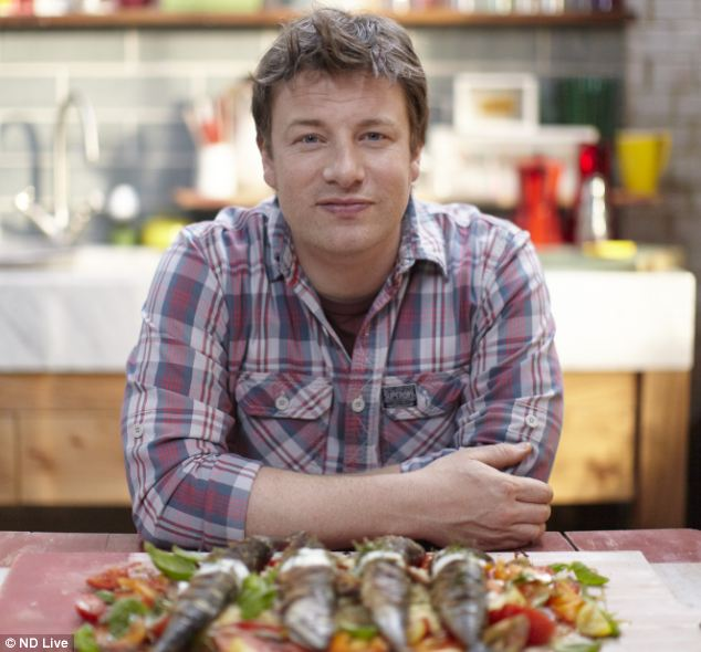 The ease and simplicity of recipes in celebrity cookbooks by Delia Smith and Jamie Oliver (pictured) are more popular for home cooks