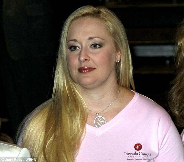 Troubled: Mindy McCready, 37, has waged a public battle with drug addiction since her career peaked in 1996