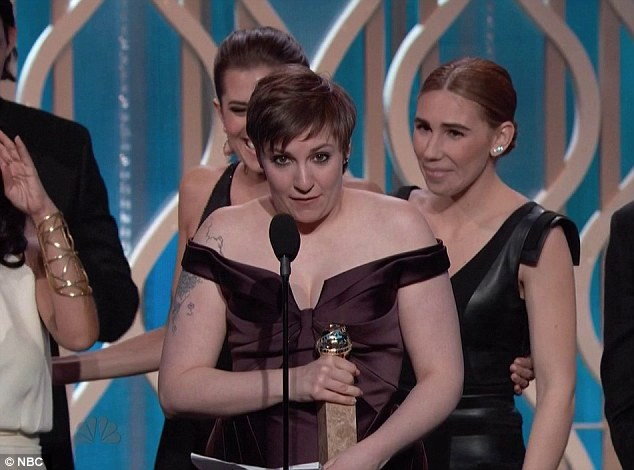 So much to say: Lena thanked her cast and crew for the help making the show a standout