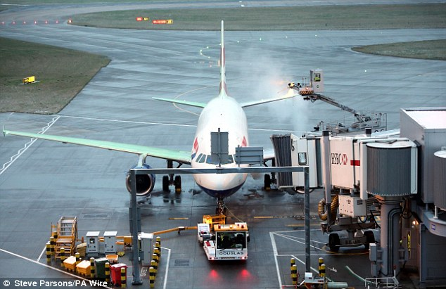 Capacity: Despite the record performance, airport bosses say that the airport is operating at almost full capacity airport, with lost trade costing the UK £14 billion every year