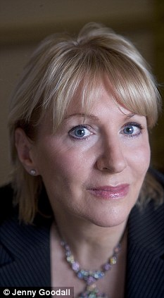 Outspoken: Dorries appeared on Question Time last week