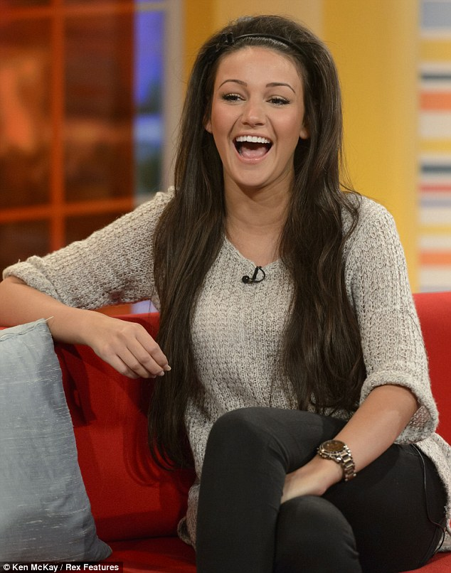 Ready for children: Michelle Keegan, who is reportedly dating Mark Wright, openly admits on Daybreak that she's feeling broody