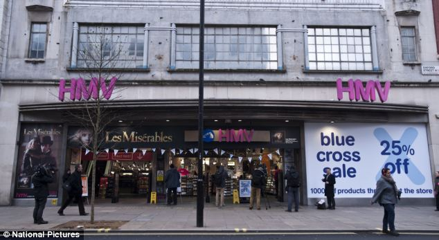 Day the music died: Administrators Deloitte warn that shops will now close