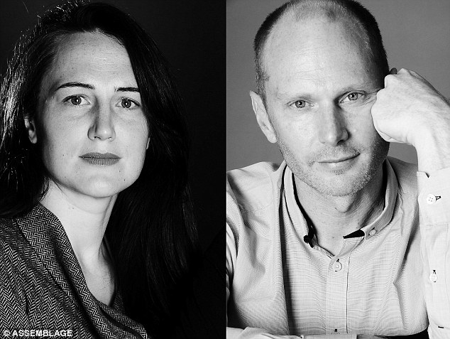 The winners: Architects Hannah Corlett, left, and Peter Besley, right, set up London-based Assemblage in 2003