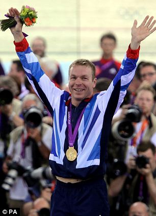 Cycling successes: Victoria Pendleton (above); James Hoy and Laura Trott both won golds