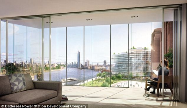 More than £600m of property inside London's redeveloped Battersea Power Station has been snapped up within four days