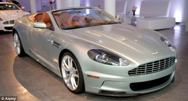 Atmosphere Aston Martin new limited edition 2010 DBS Volante drop-top sports car,