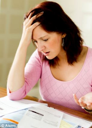 More than 36 per cent of people said they could not afford an unexpected sudden bill