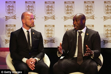 Warning: Alan Shearer (left) has told his former club that they could face a relegation fight