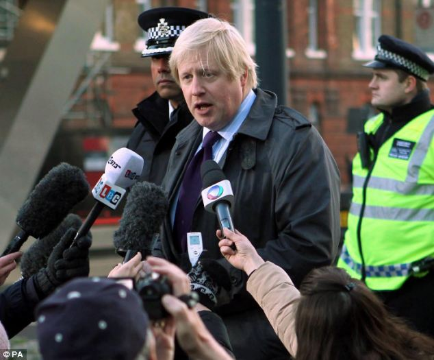 Mayor of London Boris Johnson said it was clear that the tragic accident could have claimed many more lives