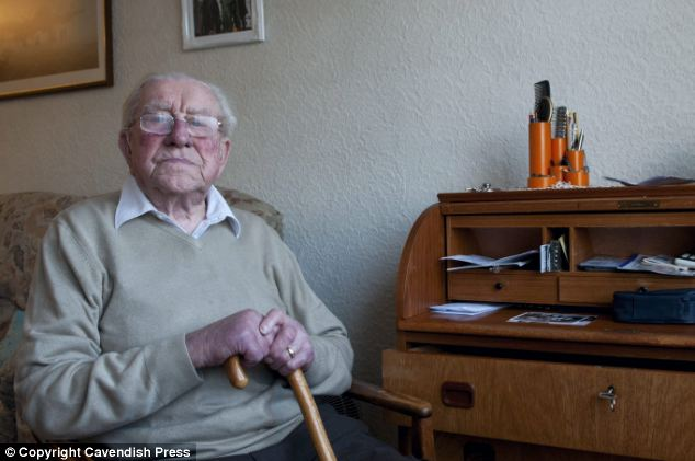 Louis Butler said his 'faith in human nature' was restored by bank worker Victoria Mowbray who went to his aid when he rang to cancel his cards after his home was burgled