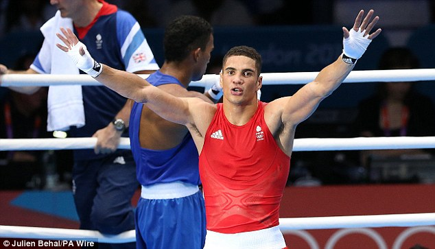 Medallist: Ogogo won bronze at the 2012 Olympics at London's Excel arena