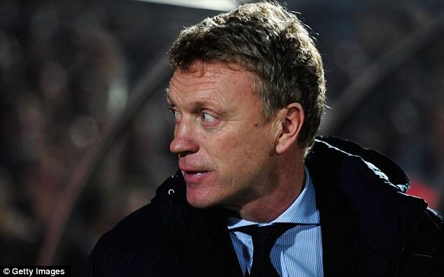 Hijack: David Moyes could yet beat QPR to M'Vila