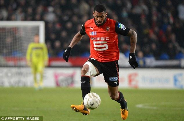 On the move: Yann M'Vila seems destined to move to the Premier League