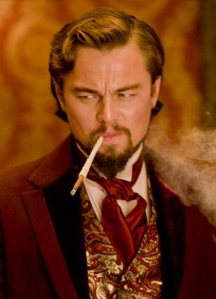 Leonardo DiCaprio's character has a taste for black-on-black ¿Mandingo¿