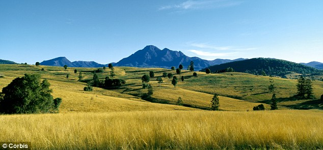 The Scenic Rim in south-east Queensland