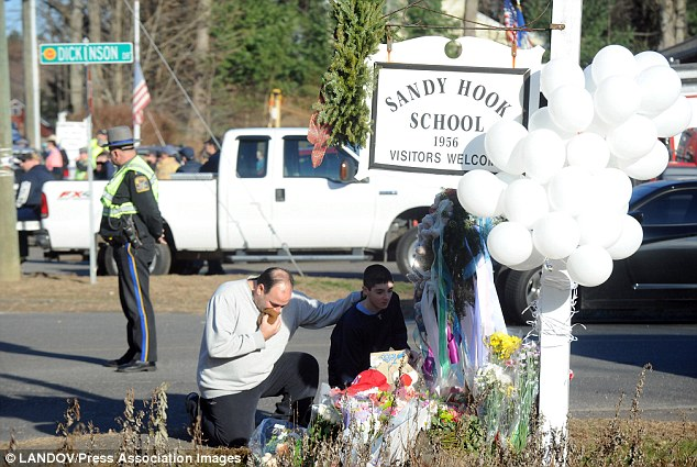 Heartbreaking: The shooting at Sandy Hook Elementary School shocked America and left President Obama visibly upset